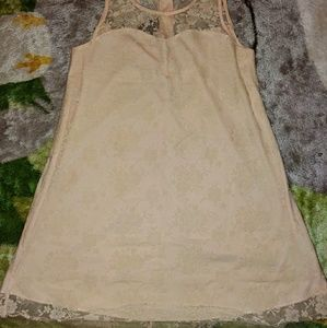 NWOT Forever21 Lacey Swing Dress